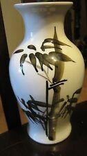 China Vase White Literate Bamboo Painting