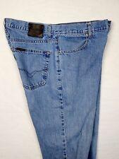 Harley Davidson Mens Straight Leg Blue Jeans Stone Slub 99022N 029 Size 36x34