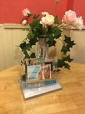 """""""Son"""" picture frame Glass 3D Frame Rectangle Frameless contemporary looking"""
