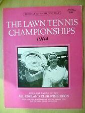 Tennis Memorabilia- 1964 The Lawn Tennis Championships Official Programme