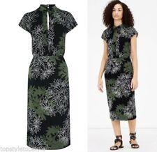 Warehouse Viscose Floral Regular Size Dresses for Women