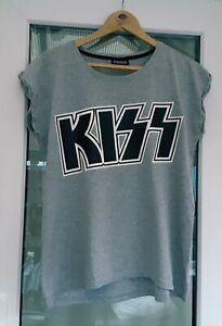 Ladies Official Epic Rights 'Kiss' T Shirt Size M  12-14