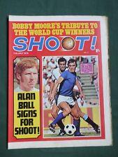 SHOOT - MAGAZINE- 11 JULY 1970 - ALAN BALL - GEORGE BEST - JOHN CONNOLLY