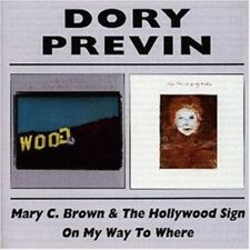 Dory Previn-Mary C. Brown & the HOLLYWOOD SIGN/on my way to where 2 CD NUOVO