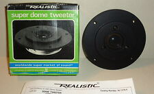 NEW Realistic Super Dome Tweeter 40-1276A high quality (FOSTER made these)