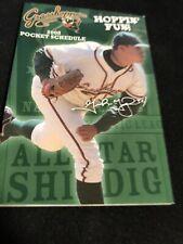2008 Greensboro Grasshoppers Baseball Pocket Schedule Marlins Affiliate