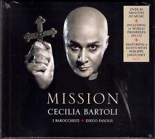 Cecilia BARTOLI: MISSION Agostino STEFFANI Philippe JAROUSSKY Deluxe Edition CD