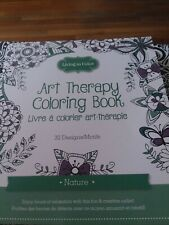 Set of 2 Art therapy coloring books