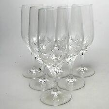 6 x Eisch Bier Gläser Pilstulpen Kristall handgeschliffen ca. 21 x 6 cm