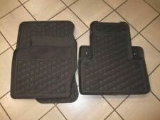 2008 TO 2013 Genuine Volvo C30 Rubber All Season Floor Mats Set of 4 - BLACK