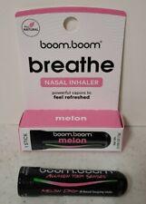 "BOOM BOOM Aromatherapy Nasal Inhaler Melon Drop as Seen on SHARK TANK ""new look"""