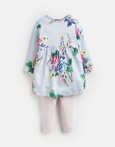 Joules Baby Girls Christina Dress And Leggings Set - 3M-6M