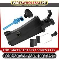 Radiator Coolant Overflow Expansion Tank Bottle Reservoir for BMW E46 1998-2006