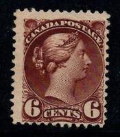 Kanada 1870 Mi. 30 Ohne Gummi 100% 6 C, Königin Victoria