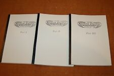 Western Electric Mirrophonic Books Volume 1,2 & 3 For Amplifiers, Speakers