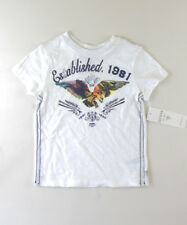GUESS AUTH WHITE 1981 EAGLE TEE White KIDS BOY'S Top Size S(4) SALE