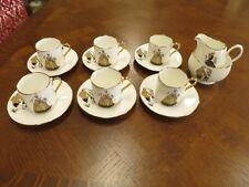 Aynsley Coffee set -14 Pcs, Pattern: