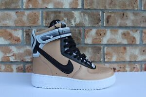Men's Nike Air Force 1 Hi SP Riccardo Tisci RT AF1 Vachetta Tan Black 669919-200