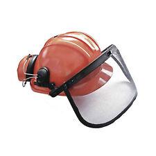 Gesichtsschutz Forsthelm Kopfschutz Helm f Motorsägen