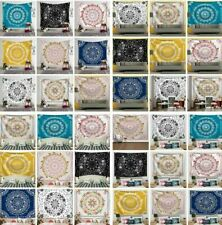 Hippie Mandala Floral Print Tapestry Art Room Wall Hanging Psychedlic Tapestries