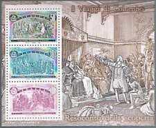 Italie Sc  1887 I Viaggi Di Colombo Bloc