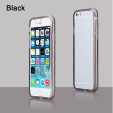 Soft Silicone Gel Frame Skin Clear Matte Bumper Case Cover for iPhone 5/5S 6 6S