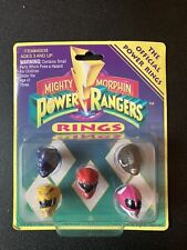 Mighty Morphin Power Rangers Offical Power Rings Saban 1993