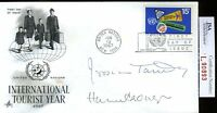 JESSICA TANDY HUGH CRONYN JSA AUTHENTICATED SIGNED FDC CERTED AUTOGRAPH