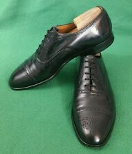 Church's Cap Toe Oxford Shoe Black Leather Mens 11(s5)