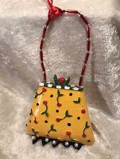 Mary Englebreit Purse Christmas Ornament