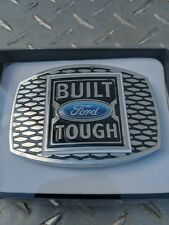 Ford Camionnette Incorporé Difficile Argent Bleu Etain Boucle Ceinture Neuf Spec