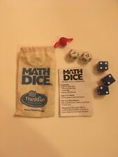 ThinkFun Math Dice Game NEW Learning Game Educational Ages 8+
