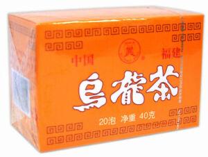 5 Boxes of Butterfly Oolong Tea Total 100 Bags Fujian Wu long Wulong Slimming