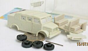 Gollwitzer:  Borgward B 2000 Kübelwagen,  Resine Modell  (7216)