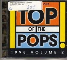 (CD75) Top Of The Pops 1998, Vol. 2, 2 CDs - 1998 CD