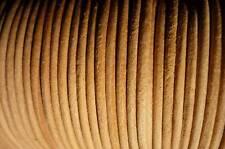 5 mètres cordon cuir lacet cuir naturel Ø  2 mm
