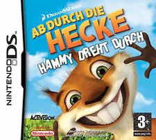 MODUL Ab durch die Hecke Hammy dreht durch für Nintendo DS lite DSi 3DS 2DS M