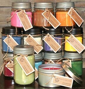 Maple Creek Candles BACON, GRASS, MONKEY FARTS, LEATHER, WOOD You Pick Scent