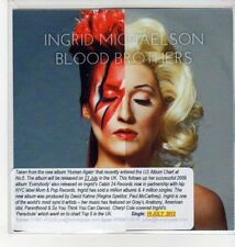(DN157) Ingrid Michaelson, Blood Brothers - 2012 DJ CD