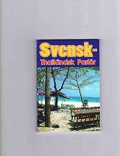 Svensk-Thailändsk Parlör Thailand Wörterbuch Sprachführer Buch BokThai