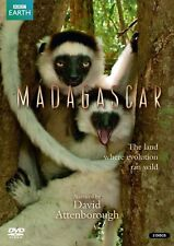 MADAGASCAR (2010): DAVID ATTENBOROUGH inc. GIANT EGG - BBC TV Series NEW  DVD UK