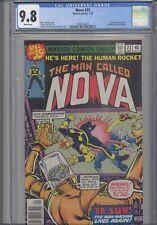 Nova #23 CGC 9.8 1979 Marvel Doctor Sun App, Sphinx Cameo: NEW Frame