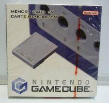 Ufficiale Nintendo Gamecube Scheda di Memoria - 59 Blocchi