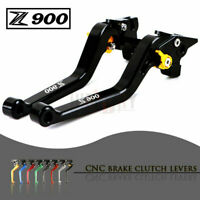 CNC Aluminum Long Adjustable Brake Clutch Levers for KAWASAKI Z900 2017-2019