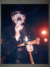 King Diamond Mercyful Fate Promo Photo 8x10 Judas Priest Iron Maiden Venom 3