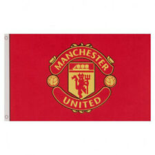 Large Manchester United FC Flag Club CORE Crest 5ft x 3ft