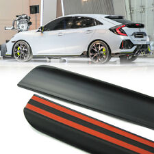 2018 Fit Honda Civic X 10th Hatchback Rear Trunk Lip Spoiler Wing Unpaint PUF