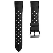 ZULUDIVER® Vintage Tropical Style Rubber Watch Strap 20mm & 22mm