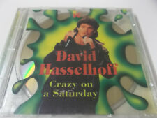 43750 - DAVID HASSELHOFF - CRAZY ON A SATURDAY - 1994 CD ALBUM (NIGHT ROCKER)