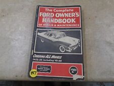 Clymer Ford Owners Used Handbook Repair Manual VP 70s VP-CM357